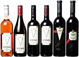 Bulgarian Master Vinters Five Reds and a Rose Mixed Pack, 6 x 750 mL