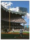 Mickey Mantle Roger Maris 1961 yankee stadium Bill Purdom signed Litho LE /799