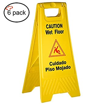 Amazon.com: tigerchef tc-20244 Amarillo Wet Floor Caution ...