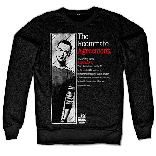 The Roommate Agreement Sweatshirt (Black)