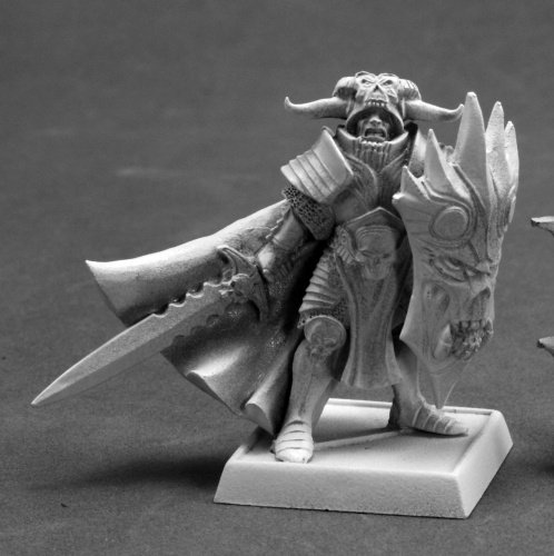 Reaper Miniatures 60103 Pathfinder Series Mini Anti Paladin Miniature REM60103