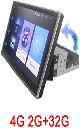 XC Radio de Coche giratoria 1 DIN 2G 32G para Reproductor de DVD Universal para Coche, navegación GPS Accesorios para Coche Bluetooth 4G Internet: Amazon.es: Hogar