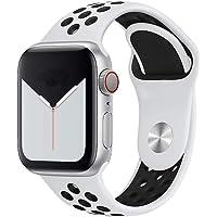 Pulseira Sport silicone furo NK para apple watch series 1/2/3/4 tamanho 42/44mm Branco/preto