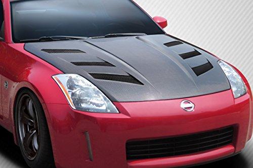 350z carbon hood - 6