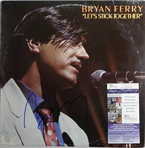 Autographed Signed Memorabilia Roxy Music Bryan Ferry Autographed Signed Memorabilia 12 Lp Certified Authentic JSA L26650
