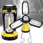 Lanterna de campismo LED recarregável, FdrirectPortable 1200mAh luzes de acampamento lanternas luzes de emergê