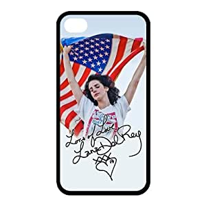 Customize Famous Singer Lana Del Rey Back Case for iphone 4 4S JN4S-1959