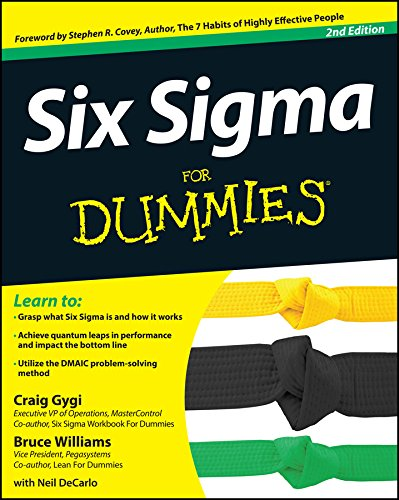 Six Sigma For Dummies (Best Six Sigma Certification In World)