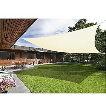 garden canopy. Greenbay Sun Shade Sail Garden Patio Yard Party Sunscreen Awning Canopy 98% UV Block Rectangle