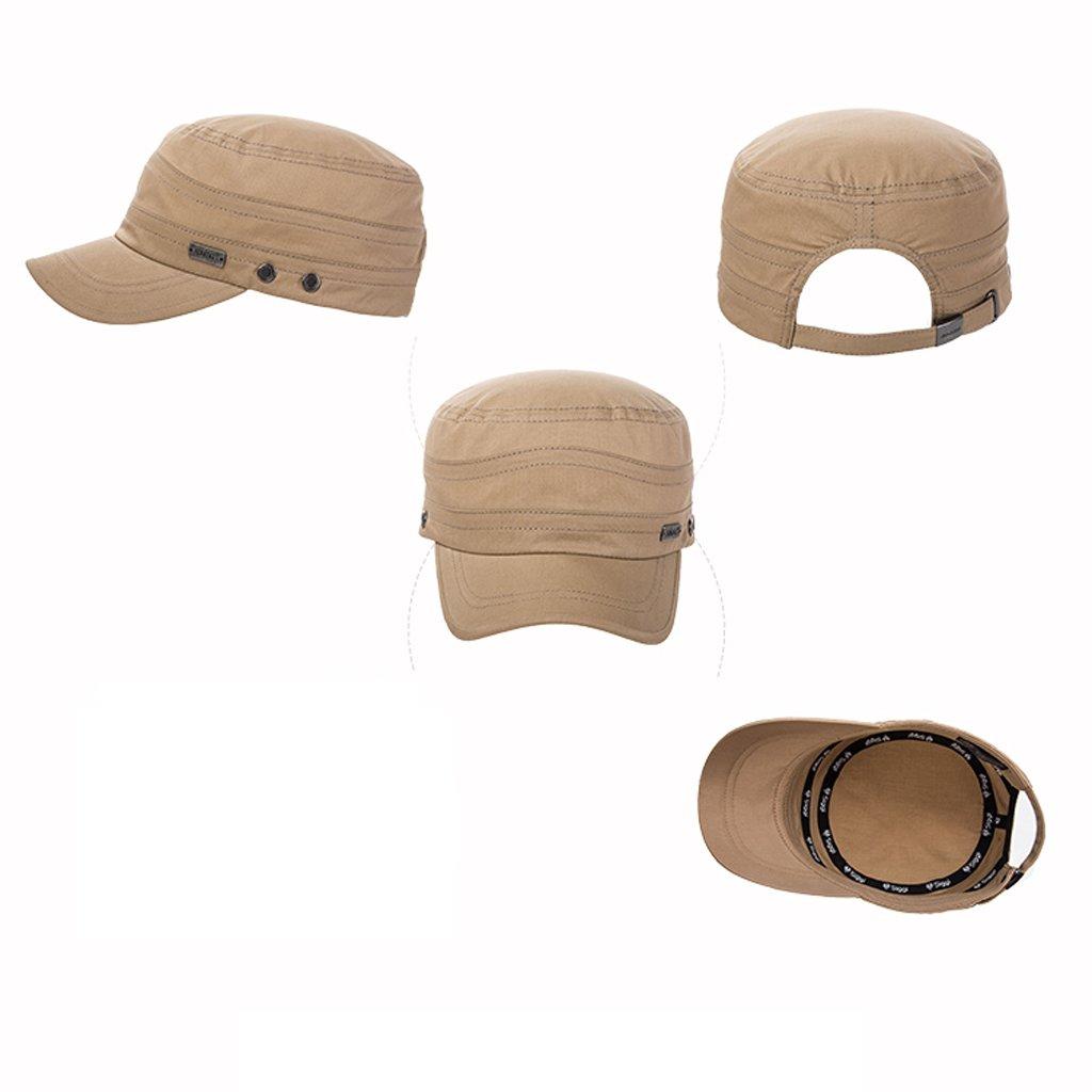 C S Sombrero Gorras de Béisbol Casuales Hombres de la Moda Versión de Visera  al Aire Libre de Good Classic Simplicity (Color   Beige)  Amazon.es   Deportes y ... abc509ae227