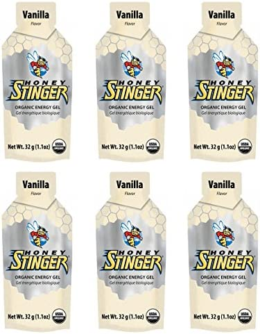 Honey Stinger Organic Energy Gel – Vanilla 6 x 1.1oz Packs