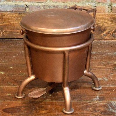 William Sheppee SLN702C Waste Basket, 2 gallon, Copper (Wastebasket Copper)