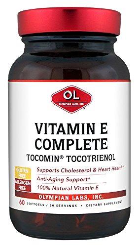 Olympian Labs Tocomin Tocotrienol Vitamin E Complete, 60 Sof