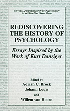 essays on history of psychology History of psychology timeline psychology in a whole has evolved, from the days of the ancient greek philosophers who's beliefs that the void in our knowledge needed to be addressed so that we would understand the natural world in more rational manner many of the students who became teachers.