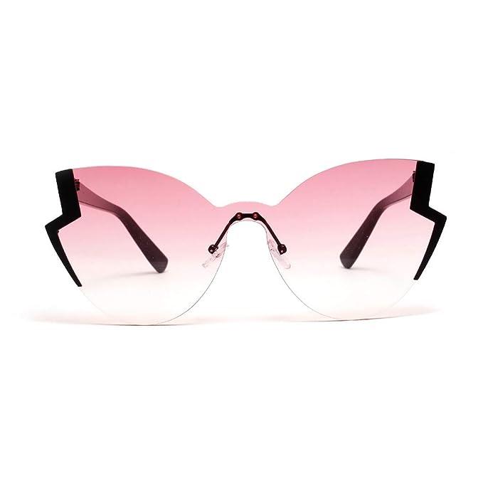 Mymyguoe Dama Gafas de Sol Gafas de Sol Irregulares Mujeres ...