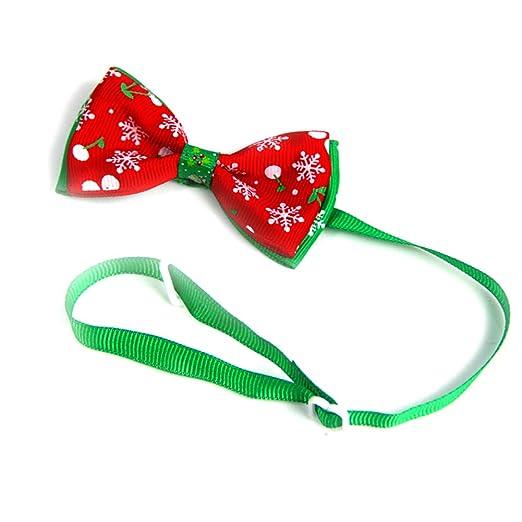 Da.Wa 1X Collar de Perro Corbata de Lazo Pajarita para Perro ...
