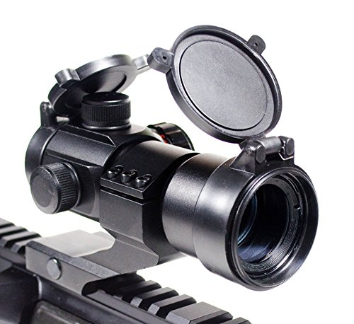 Ozark Armament Rhino Tactical Green & Red Dot Sight for Rifles & Shotguns by Includes Picatinny Cantilever Mount Co-Witness with Iron Sights - Coated Optic (Tactical Shotgun Sights)