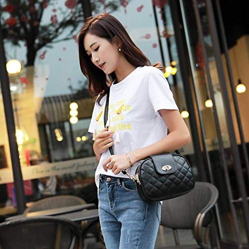Bag Body Cell Purse Strap Women's Cross Black Bag Tomotime With Wallet Small Phone Adjustable BA7tntaq
