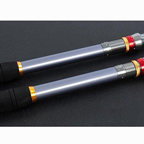 complète Set d'engins 3 pêche MIAO Cannes de pêche carbone à Pigeon mer de pêche de long 6m Pole du gamme tir pZpOq