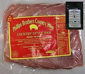 North Carolina Country Ham Biscuit Cuts 1 Lb Pkg