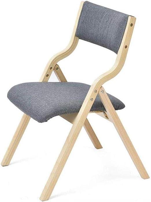 Sillas Plegables de Madera sólida de Las sillas Plegables, Asiento ...