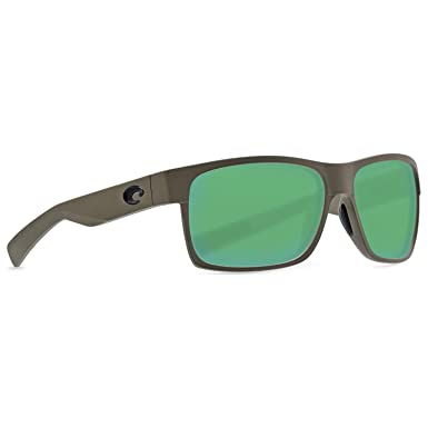 7f2b83f693 Amazon.com  Costa Half Moon Sunglasses - Matte Moss Frame - Green ...