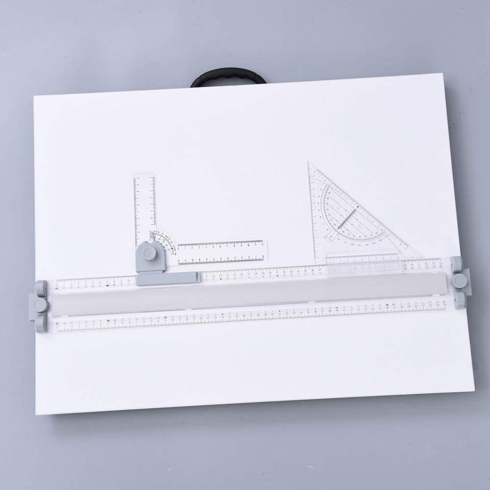 A2 Traction Drawing Board Sketch Instrument Engineering Mechanical Drawing Board 46x46cm