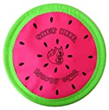 "Floppy Disc ""USA"", Melon, Soft Flying Disc Toy for Dogs, 10 inch"