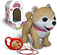 Kids Walking and Barking Puppy Dog Toy Pet with Remote Control Leash