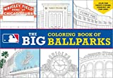Major League Baseball: The Big Coloring Book of Ballparks (Hawk's Nest Activity Books)