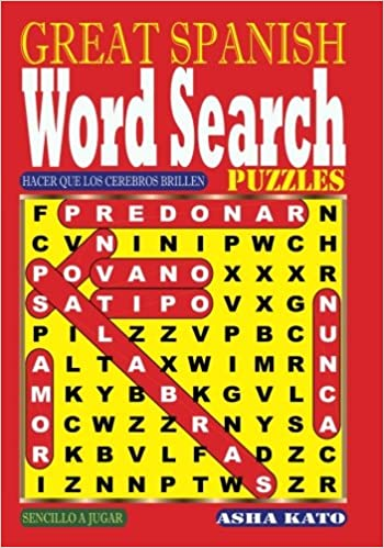 Book GREAT SPANISH Word Search Puzzles (Volume 1) (Spanish Edition)