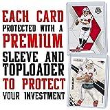 Tom Brady Football Card Bundle, Set of 6 Assorted
