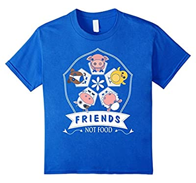 Funny Vegan Gifts Shirt Animals Are Friends Not Food Shirt