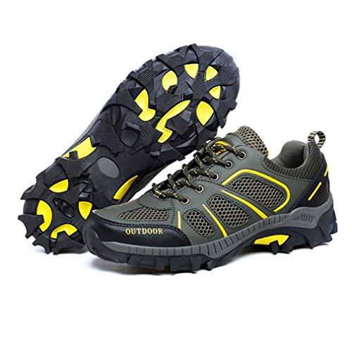 adulto oscuro botas de Unisex verde XIGUAFR bajo caño 4TXwnnqF