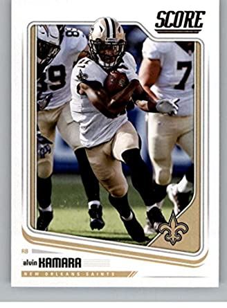 39b82167f Amazon.com  2018 Score  221 Alvin Kamara New Orleans Saints Football ...