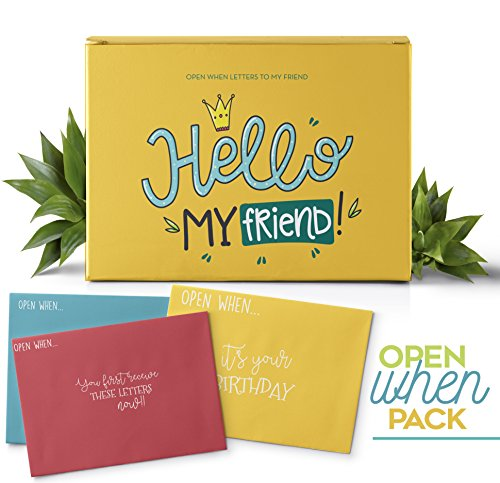Open When Envelopes For Your Best Friend: Top 10 Best Envelopes Open When