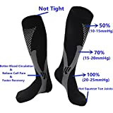 2/3Pairs Compression Socks, 20-30 mmhg Medical