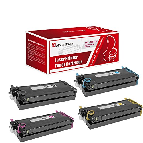 Compatible Dell 3110 Toner Cartridge –Dell 310-8092 High Y