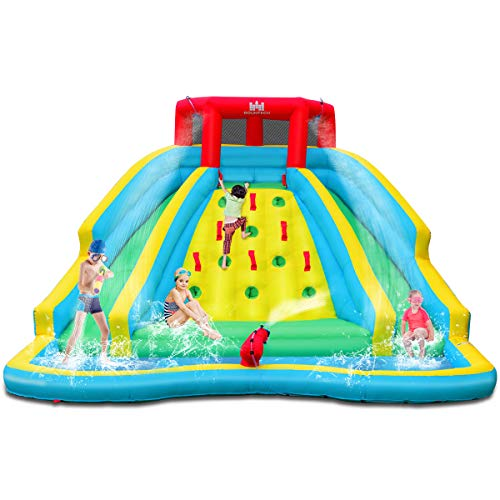 BOUNTECH Inflatable Water Slide