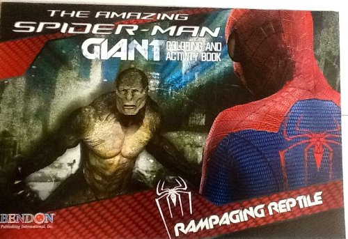 The Amazing Spider-Man - Rampaging Reptile! Oversized Giant Coloring & Activity Book! Games! Mazes! Puzzles! 16