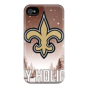 CharlesPoirier Iphone 6plus Protective Cell-phone Hard Covers Support Personal Customs Colorful New Orleans Saints Pattern [zsB7621PgJx]