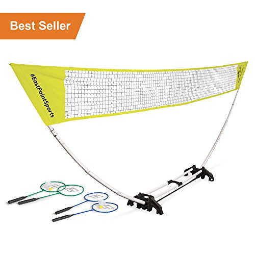 EastPoint Sports 5-FT Easy Setup Badminton Set