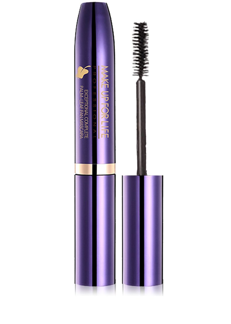 Amazon.com : Exceptional Complee Plam-Leaf Fan Mascara-0.35oz-MAKE UP FOR LIFE (Thick) : Beauty
