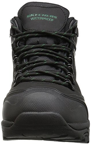 Skechers PEDLEY ASTER Mens Outdoor Boots Waterproof RELAXED FIT Nero