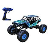 DeXop 4WD High Speed RC Car 1/10 Scale Rock Crawler Remote Control Cars Electric Rock Crawler Off Road Cars