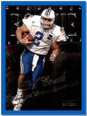 1999 Metal Universe #210 Tim Couch RC Rookie CLEVELAND BROWNS KENTUCKY WILDCATS