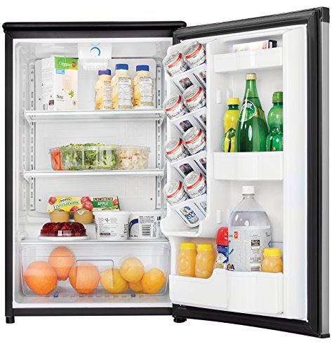 Danby DAR044A5BSLDD Compact Refrigerator, Spotless Steel Door, 4.4 Cubic Feet by Danby (Image #2)
