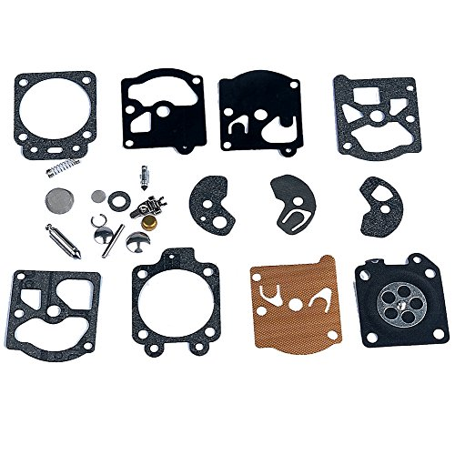 - HIPA Carburetor Rebuild Kit Gasket Diaphragm K10-WAT for Carb STIHL Husqvarna McCulloch Echo Chainsaw Edger Trimmer