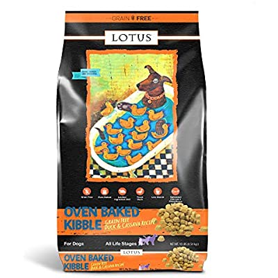 Lotus Dry Dog Food, 10 Lb, Duck And Sweet Potato