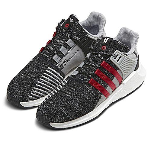 Adidas Overkill Eqt Soutenir Le Futur Tissu Noir / Rouge-blanc